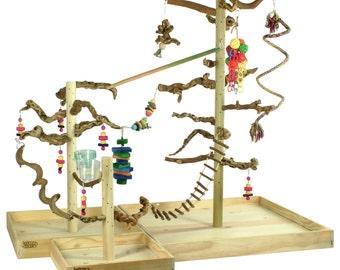 XERCH PERCH :Expandable bird perch,Xerchbird cage stand,bird stands,parrot perch,parrot stand,parrot jungle gym,parrot gym,ParrotStands