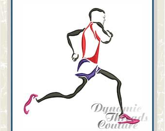 XD000166 Male Runner