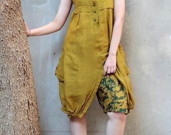 Mini...Jumpsuit/ dress mix silk More colour (56)