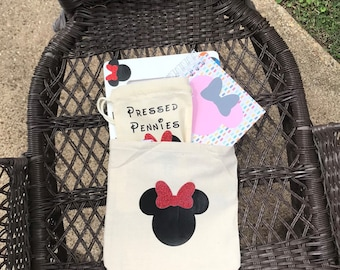 I'm going to Disney! Minnie   Bag   Countdown   Pressed Pennies   Autograph Book   Planner   Vacation