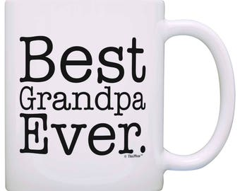 Gift for Grandpa Best Grandpa Ever Mug - M11-0030