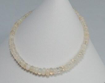 Sterling Silver Ethiopian Opal Bracelet