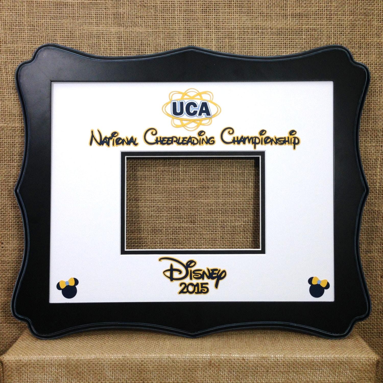 DISNEY Inspired UCA Cheerleading Competition AUTOGRAPH Photo