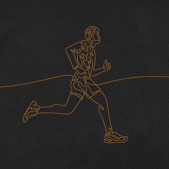 Runner's T-Shirt, Runner's Gifts, Men's Running T-Shirt, Gift for a Jogger, T-Shirts for Male Runner, Cool T-Shirts, Marathon T-Shirt