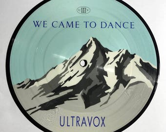 "Ultravox We Came To Dance vinyl record 45 rpm 7"" Picture Disc UK Import 1983 NM"
