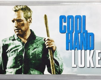Cool Hand Luke Paul Newman George Kennedy Strother Martin movie poster Fridge Magnets and Keyrings - New