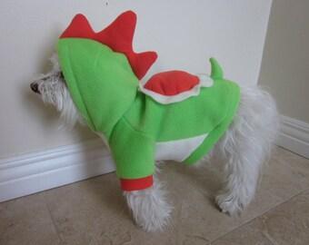 Dog clothing - Green or Yellow Yoshi Hoodie