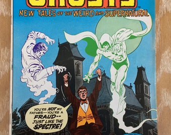 Ghosts DC Comic #98 New Tales of the Weird and Supernatural 1981