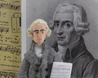 Joseph Haydn Great Composers Classical Music Miniature Doll