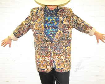 Kaleidoscope Vintage CLAUDE Blazer