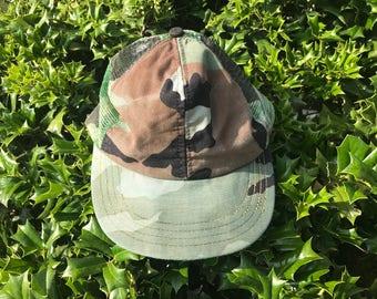 Thrashed Camo Trucker Hat