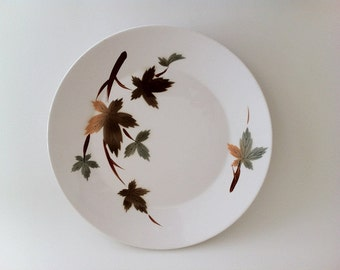 Autumn Leaves Serving Plate by Primastone