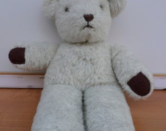 Rare Collectible Antique Teddy Bear With Glass Eyes Made in Europe England