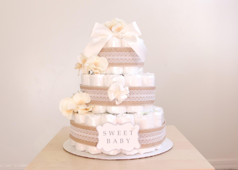 What Do I Need To Make A Diaper Cake