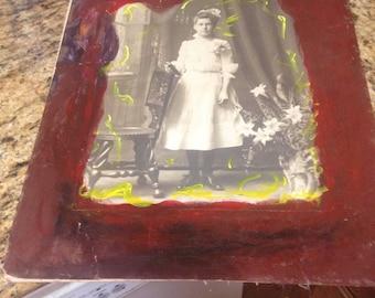 "Random 20s Art painting photo project IDK 16""20"