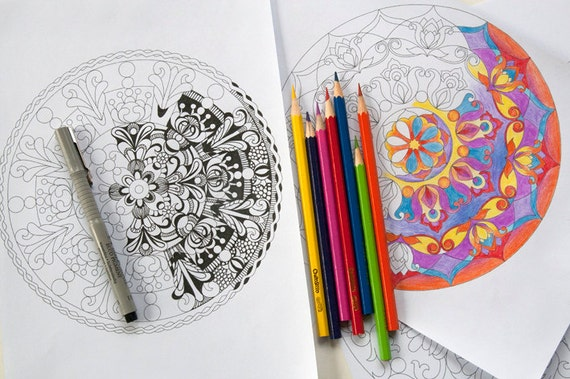 Mandala Coloring Pages Adults Printable : Mandala coloring pages. 10 printable mandala designs to color