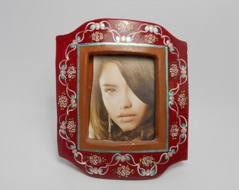Picture frame terracotta