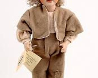 Oliver twist porcelain doll