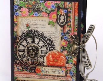 Graphic 45 - Little Women - Discovery Journal Mini Album Class Kit