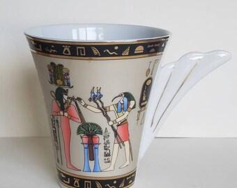 RARE LIMOGES Fathi josiane Egypte Mug-Made in France!