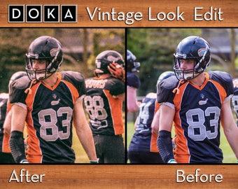 Custom Analog Look - 20 Photos - Photo Manipulation - Photo Editing - Vintage Look - Photo Retouching - Custom Vintage Filter - Retro Style