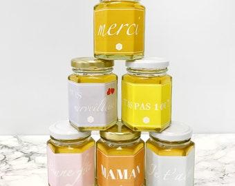 Honeypot 125g custom gift for mothers day, birthday, wedding