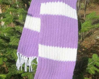 Double Knitted Cozy Scarf