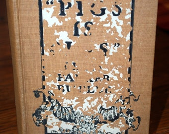 Pigs is Pigs by Ellis Parker Butler, 1906 edition, vintage book