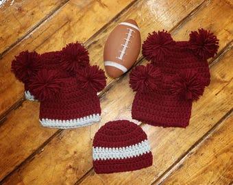 Newborn Teddy Bear or Crochet Beanie Photo Prop