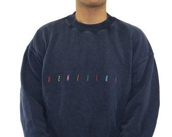 Vintage United Colors of Benetton Sweatshirt Crewneck Size XL