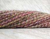 Bulky wool handspun yarn GARDEN 6.8 oz 85 yards 23 mc / 190 g 85 m