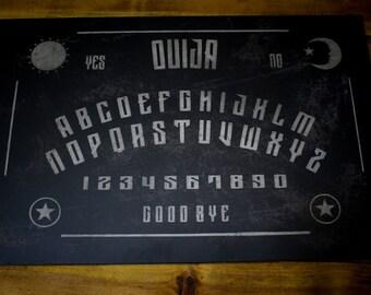 Black Ouija Board