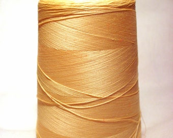Cone thread sewing resistant yellow 4500 m