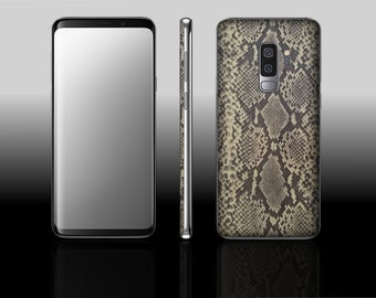 Samsung Galaxy S9 Plus Gold Viper Hyde Phone Skin Decal