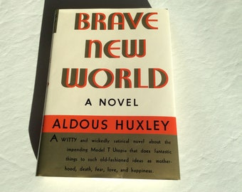 First Edition (supposedly) of 1932 Brave New World