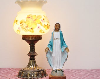 "8 3/4"" Tall Blessed Virgin Mary — OUR LADY of GRACE Statue Figurine - Made in Italy"