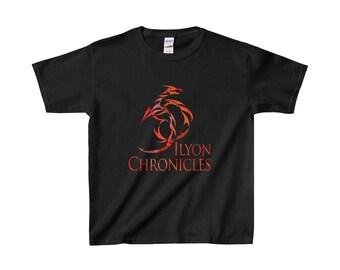 Ilyon Chronicles Red Dragon Kids T-Shirt