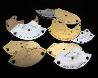 Destash Steampunk Watch Clock Parts Movements Plates Art Grab Bag RD 1