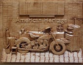 Motorcycle Art ~ Annivers...