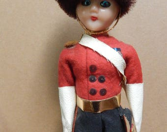 Vintage British Soldier Doll