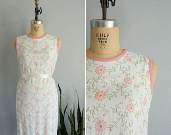 1960s From My Sweetheart shift dress | vintage 60s shift dress | vintage 60s floral print dress