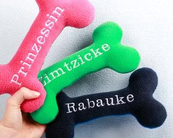 Middle Bone handmade plush toy cuddly toy Dog toy