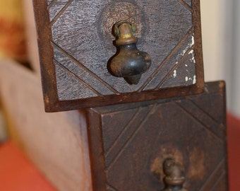 Vintage Sewing Table Drawers (Set of 2)
