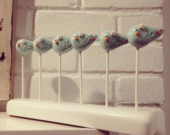 Blue bird Cake Pops