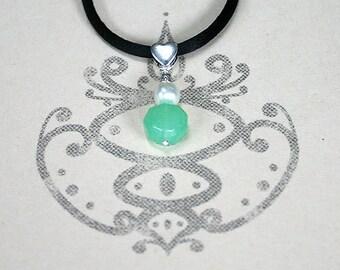 Heart Chakra Aventurine Necklace Basic Yoga Jewelry Energy Power Gemstone