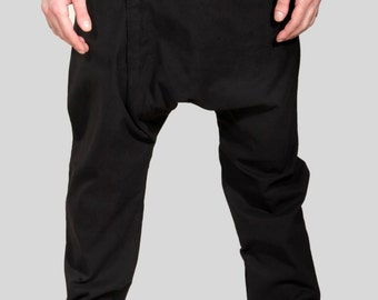 Clusterstone-Cod Drop Crotch Trousers