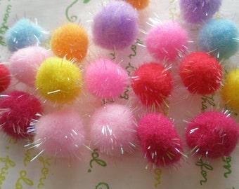 Colorful Pom Pom 10pcs RANDOM assortment