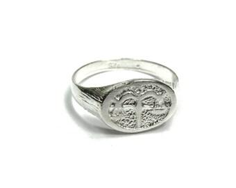 Zodiac Ring - 22k gold or Silver - aquarius, pieces, aries, taurus, gemini, cancer, leo, virgo, libra, scorpio, Sagittarius, capricorn