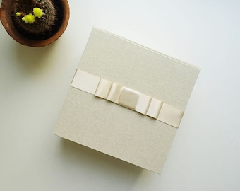 BIRTH box / keepsake photo Album with box
