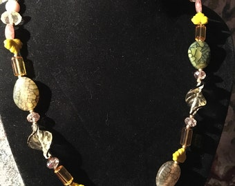 "22"" Autumnal necklace"